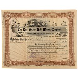 Two Cripple Creek Mining District Stock Certificates