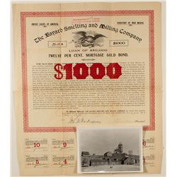 The Bayard Smelting and Milling Co. $1000 Mortgage Bond