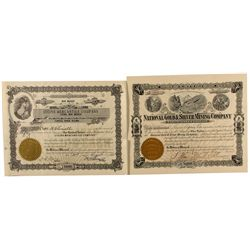 Two Certificates from Steins and Steins Pass