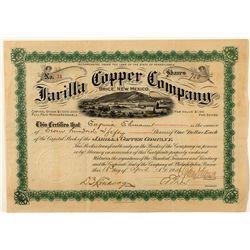 Jarilla Copper Company Stock Certificate 1906
