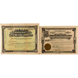 Two Mining Stocks from Hillsboro, New Mexico