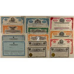 Group of 13 Misc. New Mexico Certificates