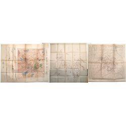 Three Cripple Creek Maps