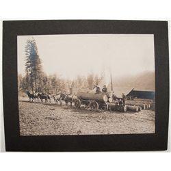 Horse-drawn Wagon, Baker City, Oregon Photograph