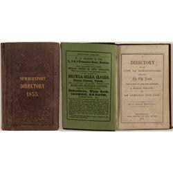 Directory of the City of Newburyport, 1855