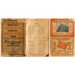 Nebraska Telephone Company Directory, 1904