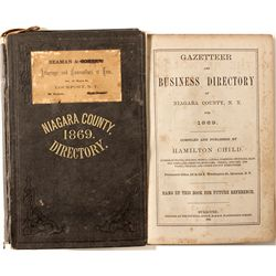 Niagara County Directory, 1869