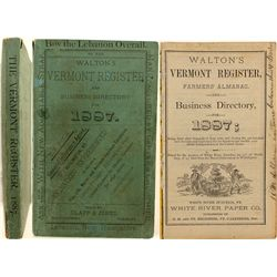 Walton's Vermont Register, 1887