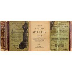 Wright's Appleton Directory, Volume II, 1887