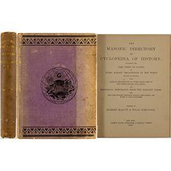 Masonic Directory and Cyclopedia of History, 1885
