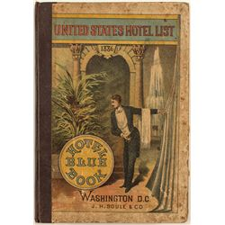 United States Hotel List (Hotel Blue Book)