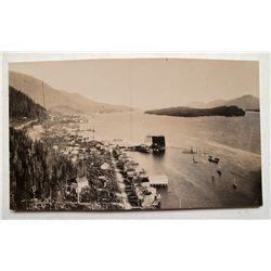 Early 1900's photograph, possibly Ketchikan