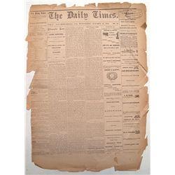 Daily Times Newspaper, San Bernardino, California