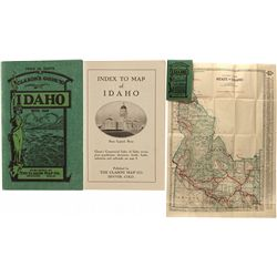 Clason's Guide to Idaho with Map
