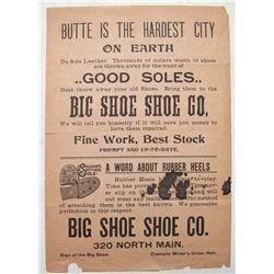 """Big Shoe Shoe"", Shoe Co. broadside"