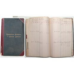North Douglas Copper Stock Ledger