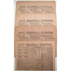 Daily Territorial Enterprise, Virginia City, Nevada