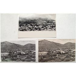 Three Virginia City, Nevada Post Cards