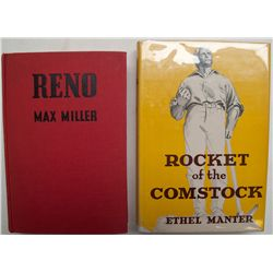 Two Nevada books:  Reno  and  Rocket of the Comstock