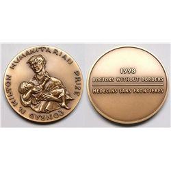 Conrad H. Hilton bronze Humanitarian Prize
