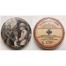 World War I German propaganda snuff box