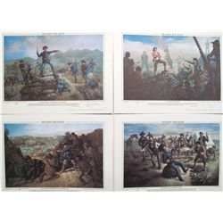 Modoc War Series Prints from Art by Don Crook