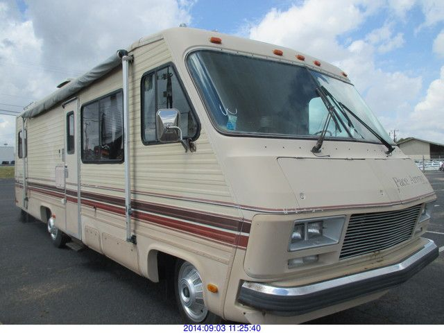 1984 - PACE ARROW MOTORHOME