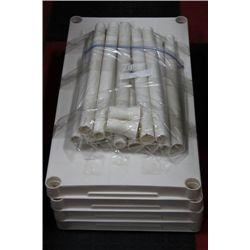 4 TEIR PLASTIC SHELVE