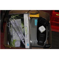 BOX OF VARIOUS ELECTRONICS