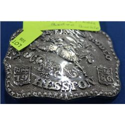 BELT BUCKLE ON CHOICE: NATIONAL FINALS RODEO