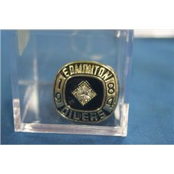 1984 WAYNE GRETZKY STANLEY CUP RING (REPLICA)