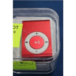 NEW BELT CLIP MP3 PLAYER AS THEY COME