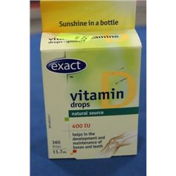 BOX W 360 VITAMIN 'D' DROPS