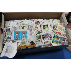 3 1/2 LB OF COMMEMORATIVE WORLD STAMPS
