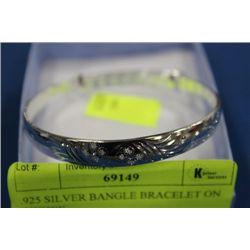 .925 SILVER BANGLE BRACELET