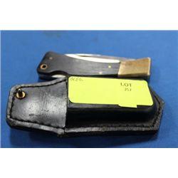 KNIFE W CASE ON CHOICE