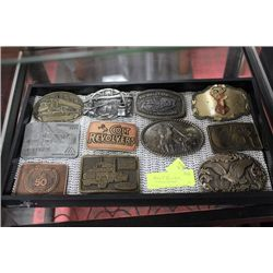 BELT BUCKLE COLLECTION SMALL TRAY NOT INCLUDED