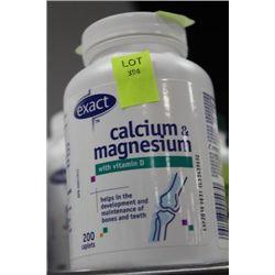 BOTLLE OF 200 CALCIUM AND MAGNESIUM CAPLETS