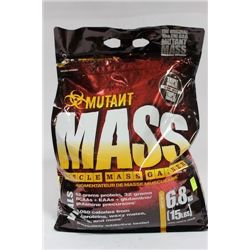 MUTANT MASS MUSCLE MASS GAINER (6.8KGS)