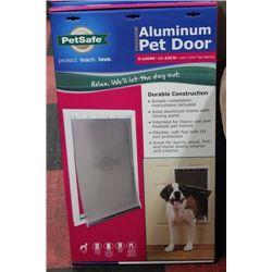 XLARGE 12-220LB ALUMINUM PET DOOR