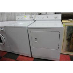 MAYTAG WASHER & DRYER (USED)