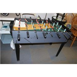 2 IN 1 AIR HOCKEY FOOSE BALL TABLE