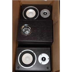BOX W/ SUBWOOFER AND 2 SATTELITE SPEAKERS