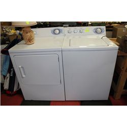 GE USED WASHER AND DRYER