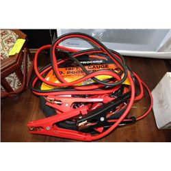 2 SETS OF BOOSTER CABLES