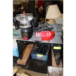 CRAFTSMAN ROUTER TABLE W ROUTER