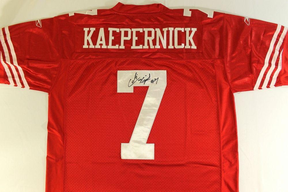 timeless design bf313 3d2f4 Colin Kaepernick Signed 49ers Jersey (JSA ALOA)