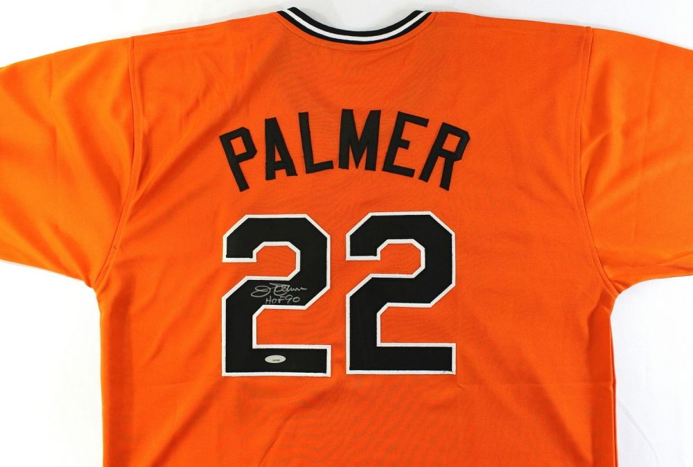 19a9b35ab Image 1   Jim Palmer Signed Orioles Jersey Inscribed