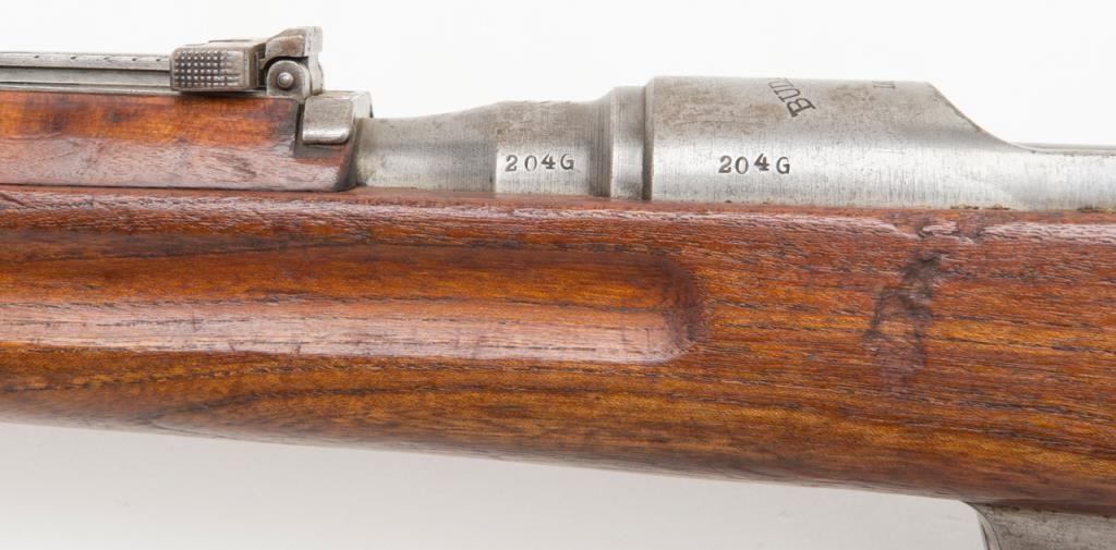 Hungarian Steyr M95 rifle, #204G, 8mm cal , 30 1/4