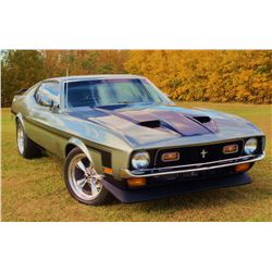 NO RESERVE 1971 FORD MUSTANG MACH 1 - SELLS AT 3:00PM